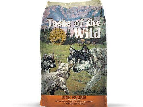 Taste of the Wild High Prairie Puppy Bisonte y Venado Asado