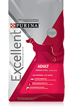 PURINA® Excellent® Adult Chicken & Rice Medium - Large Breed