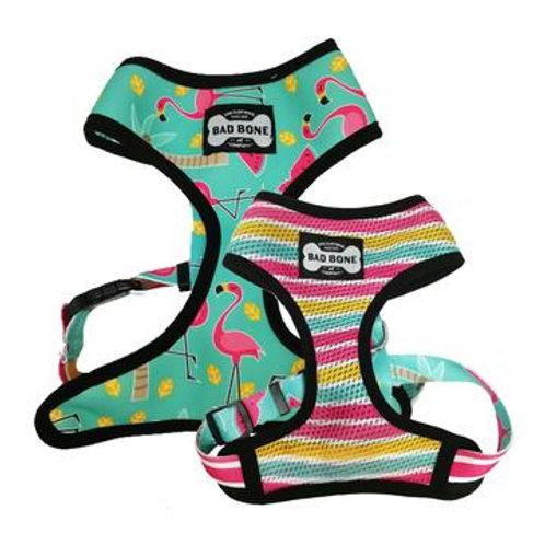 Bad Bone Pechera Flamingo Reversible