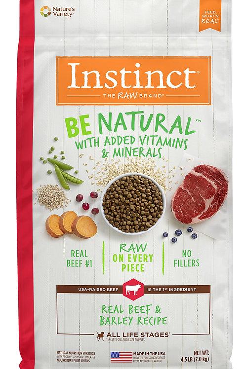 Instinct Be Natural Perro Res