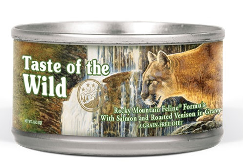 Taste of the Wild Lata Rocky Mountain Feline Venado y Salmón Ahumado