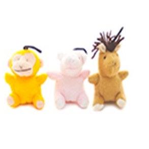 PetStarz Set de Juguetes de Peluche (3 pz)