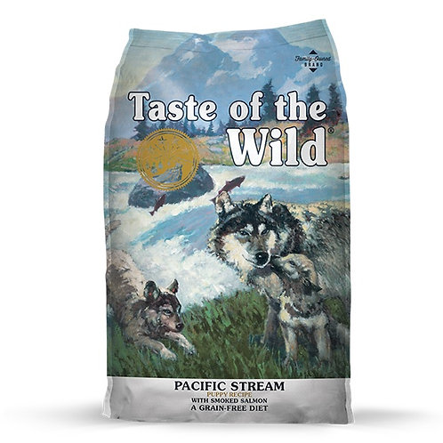 Taste of the Wild Pacific Stream Puppy Salmón Ahumado