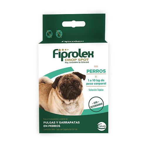 Antipulgas Fiprolex Pipeta para Perro