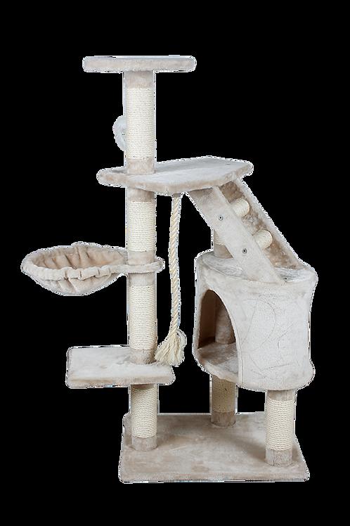 Fancy Pets Mueble con Casa y Hamaca 120 cm