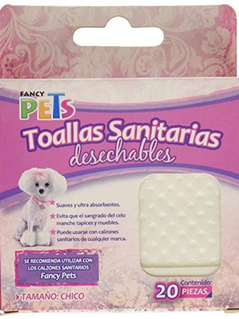 Fancy Pets Toallas Sanitarias Desechables