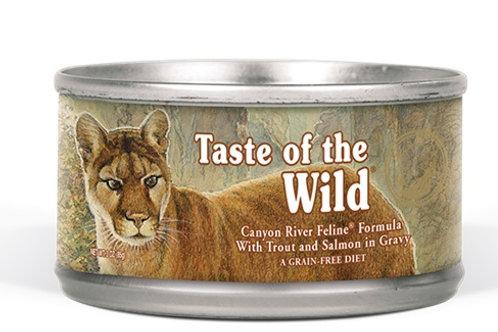 Taste of the Wild Lata Canyon River Feline Trucha y Salmón Ahumado