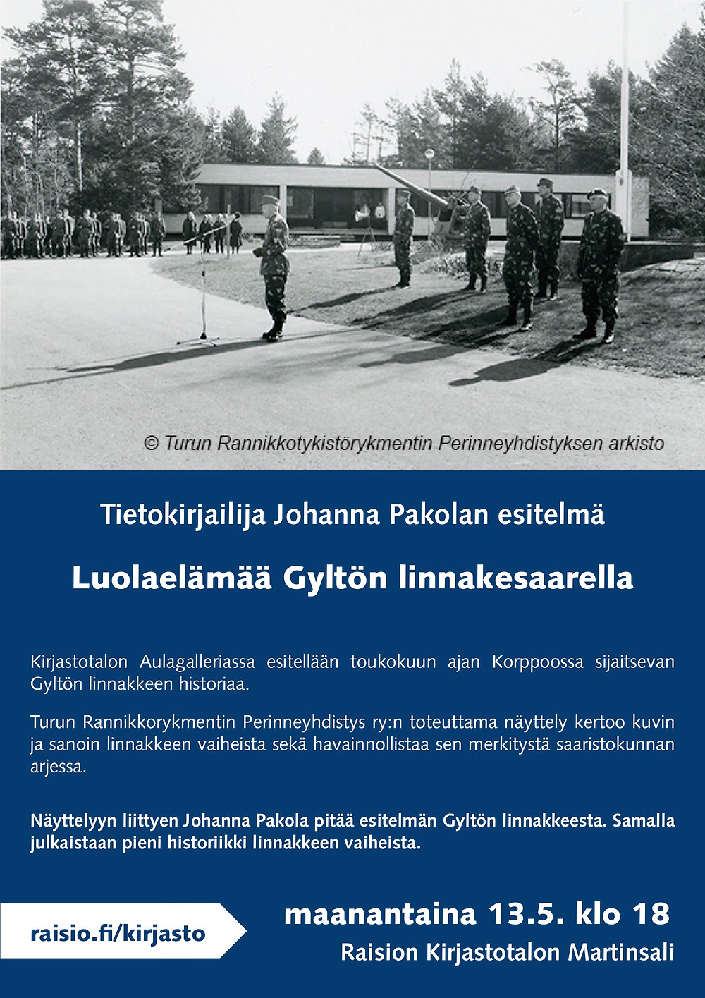 Johanna Pakola: luolaelämää gyltön linnakesaarella