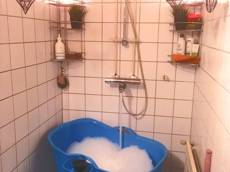 Kylpy - 1vuotias parantava ihme!