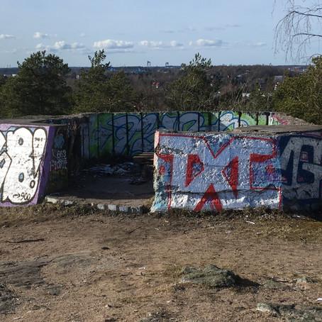 Salaiset hylätyt bunkkerit Uittamolla