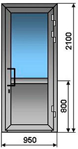 пластиковые двери для офиса