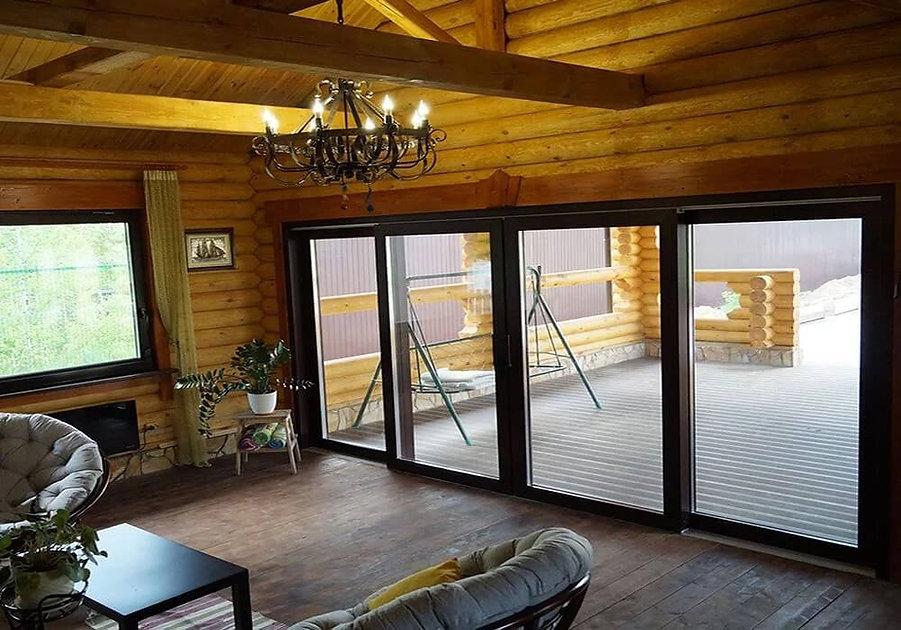Подъемно-раздвижные двери  HS-порталы