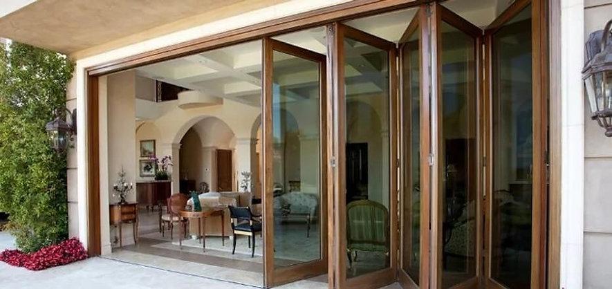 Розсувні металопластикові двері