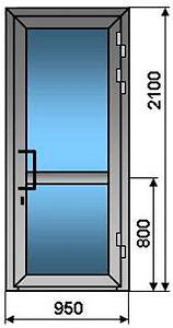 Металопластикові двері