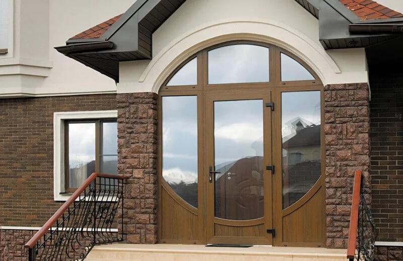 Металлопластиковые входные двери