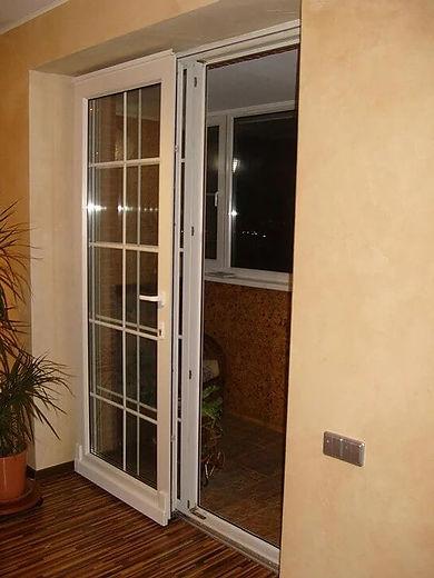 Металопластикові двері на балкон