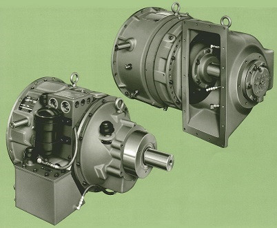 Twin Disc 3-stage Torque Converters