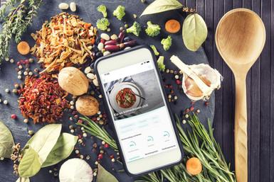 Ingredienten & Bereiding op de App