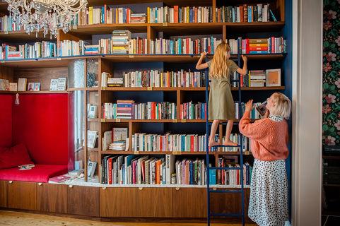 Mowk - Heidi boekenkast en platenkast (c