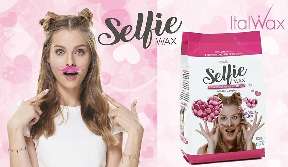 facial waxing with Italwax available from K-Cosmetics NZ