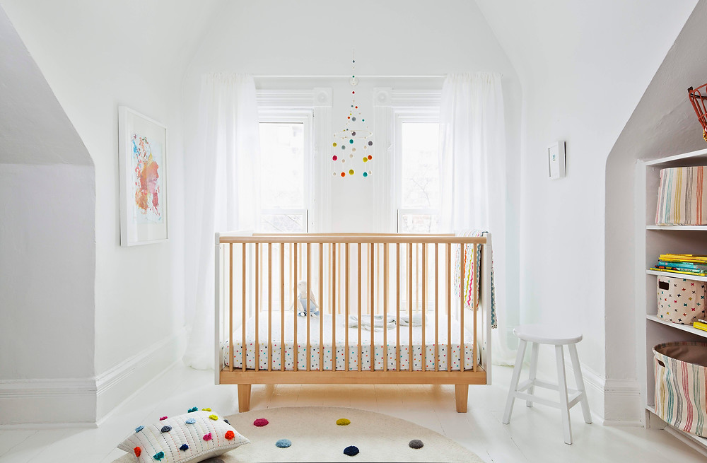 Petit Pehr has everything from storage bins to crib sheets and pillows