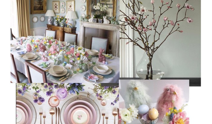 Easter Table Scapes
