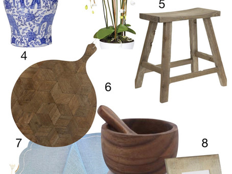 8 Accessories that will add interest, polish and character to your home.