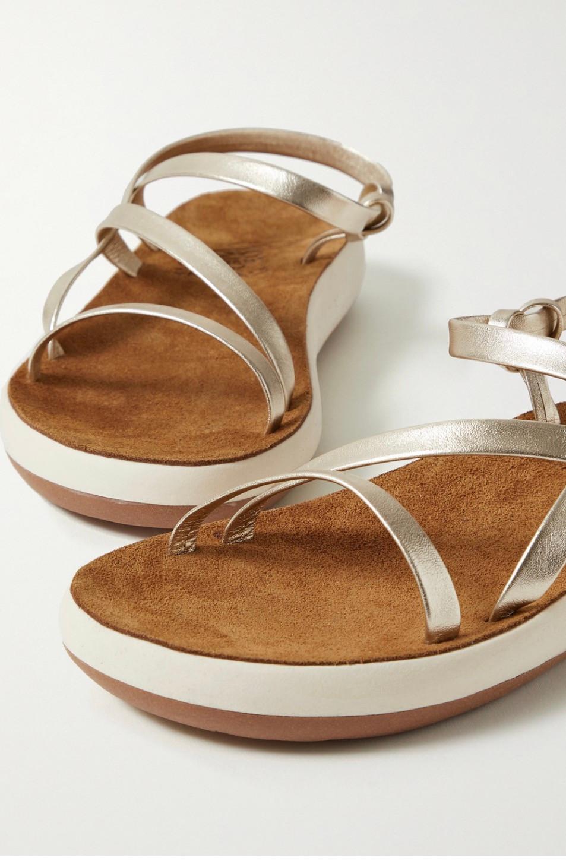 Slip on sandals with platform