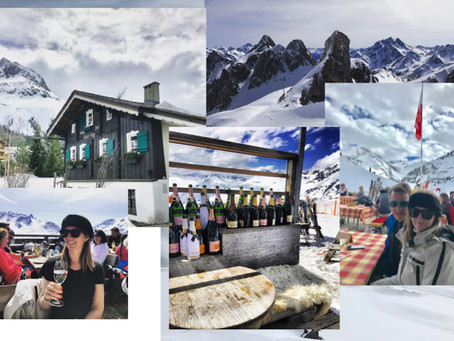 The Five Best Spots for Lunch in Saint Anton and Lech...plus where we stayed.