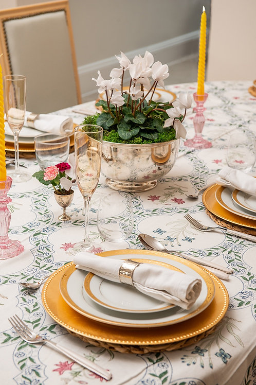 Chiddingstone Table Cloth