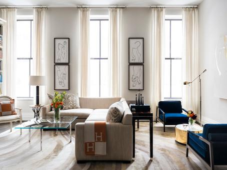 Home Tour: Tribeca Loft Designed by Elizabeth Bolognino