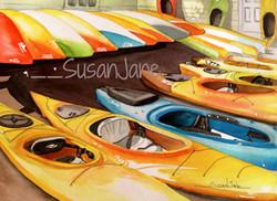 The Blue Kayak