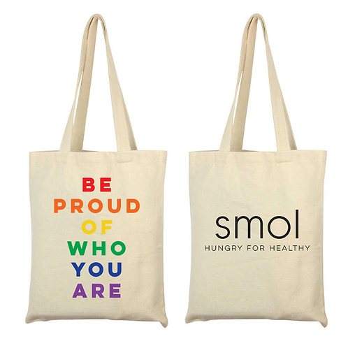 BE PROUD TOTE 🏳️‍🌈