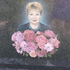 Цветной портрет гравировка