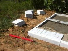 Укладка бетонной плитки