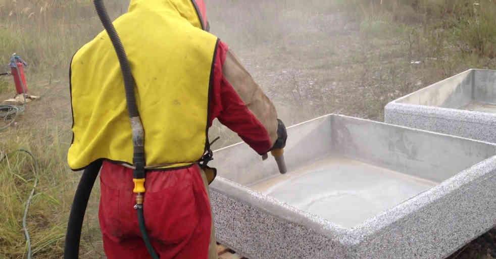 Обработка гранита и мрамора
