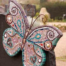 Бабочка из мозайки
