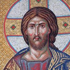 Мозайка иконы