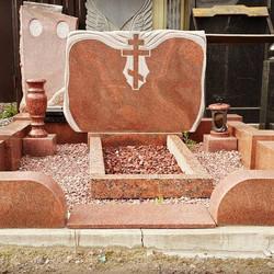 Комплект оформления места захоронения из гранита породы сюскюянсаари