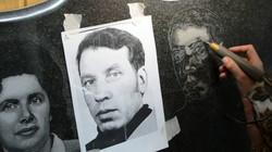 Ручная гравировка портрета на памятник