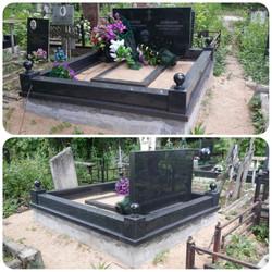Комплекс работ по благоустройству места захоронения