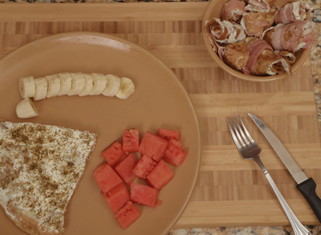 MIDDLE EASTERN FRENCH TOAST & PROSCIUTTO ROLLS
