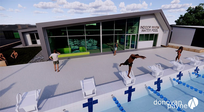 Collie Warm Water Pool Development