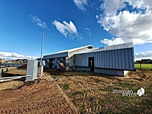 Our Novelli Pavilion Construction Progress