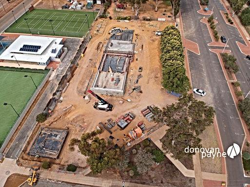 Southern Cross Aquatic Centre Pool Shell Progress