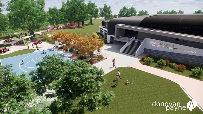 Shirley Strickland Pavilion Design Presentation