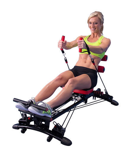 GYMFORM TOTAL FITNESS ROWER