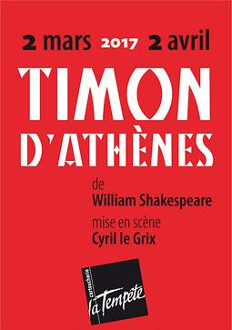 """Décor créé à l'Atelier de l'Espace : """"Timon d'Athènes"""" de William Shakespeare"""