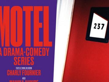"""Scénographie de """"Motel - a drama comedy series"""", de et par Charly Fournier"""
