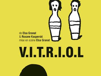 """Créé à L'Atelier de l'Espace : """"V.I.T.R.I.O.L."""", de Roxane Kasperski et Elsa Grana"""